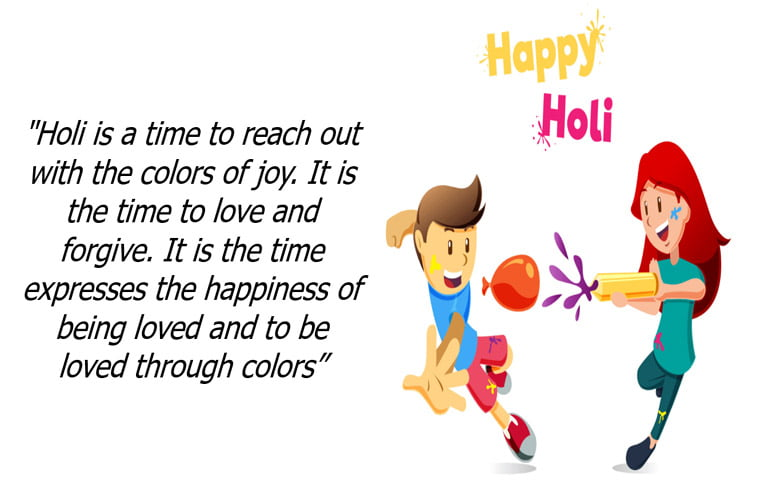 Happy Holi Image and Holi Quotes