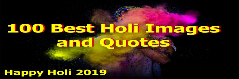 Best Holi Image and Holi Quotes