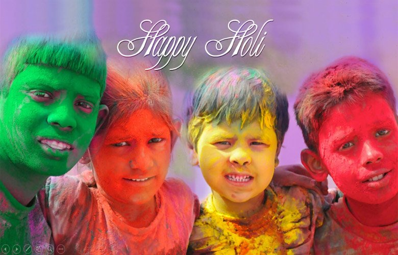Happy Holi HD Image Download