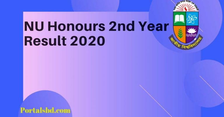 NU Honours nd Year Result