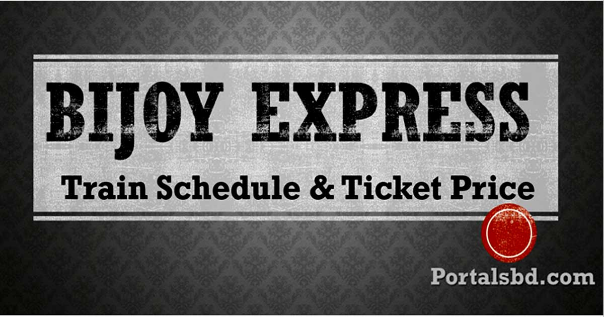 Bijoy Express Train Schedule