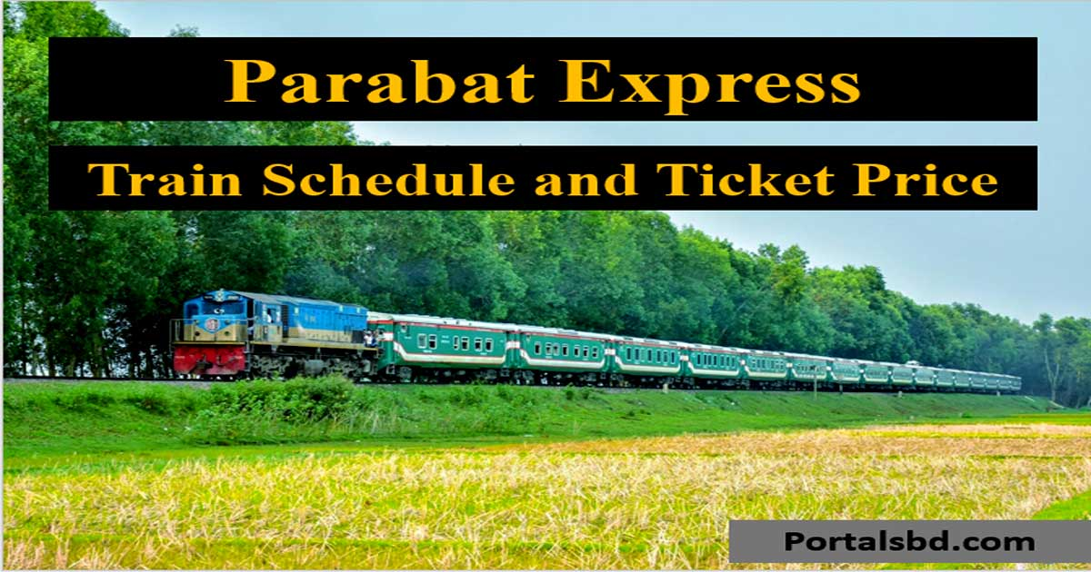 Parabat Express Train Schedule 2020 with Ticket Price