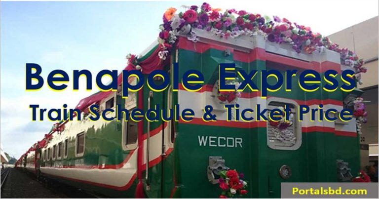 Benapole Express Train Schedule
