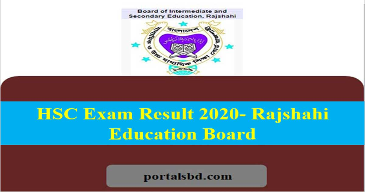 HSC Exam Result Rajshahi Board