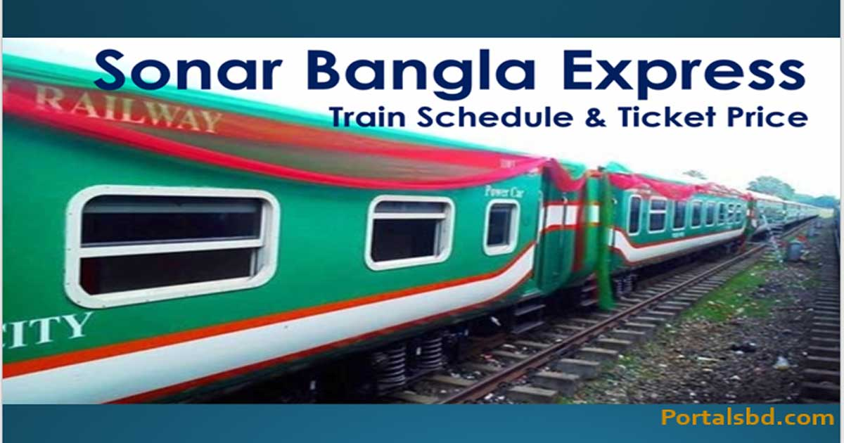 Sonar Bangla Express Train Schedule