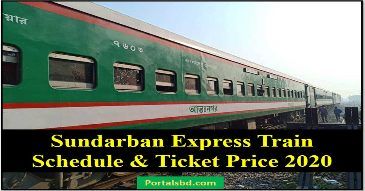 Sundarban Express Train Schedule